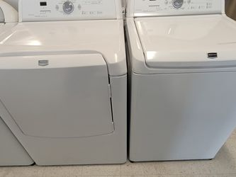 Maytag Tap Load Washer And Electric Dryer Set Used In Good Condition With 90day's Warranty for Sale in Washington,  DC