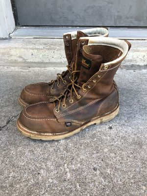THOROGOOD LEATHER WORK BOOTS SZ 12 MADE IN USA🇺🇸 for Sale in Nashville, TN