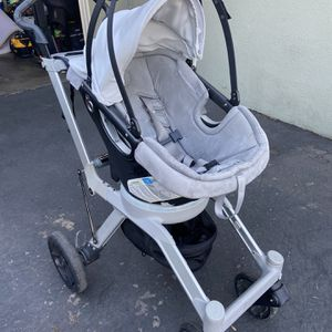Orbit Baby G2 Stroller With Car Seat Base With Both Infant And Toddler Seats for Sale in Costa Mesa, CA