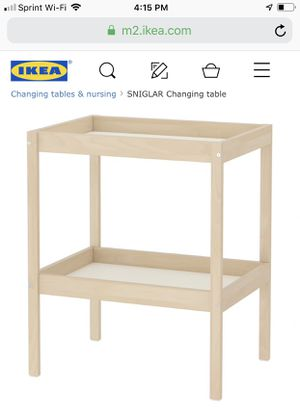 IKEA SNIGLAR CHANGING TABLE for Sale in Lake Elsinore, CA
