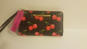 Betsy Johnson cherry wallet for Sale in Bassett, CA