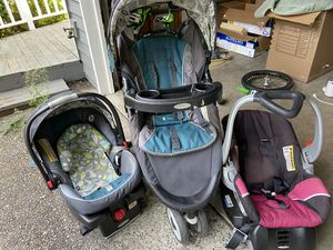 Stroller and car seats for Sale in Redmond, WA
