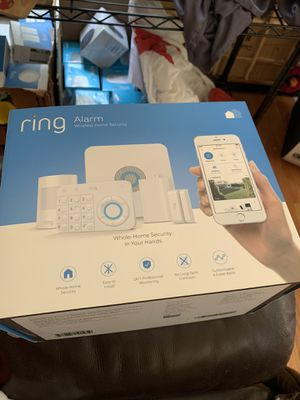 Ring alarm wireless home security kit(open box) for Sale in Germantown, MD