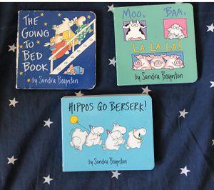 Sandra Boynton Books/Four Books for Sale in Santa Monica, CA