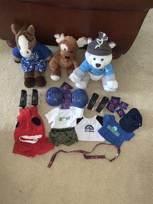 Build-a-bear dressable stuffed animal set for Sale in Chantilly, VA