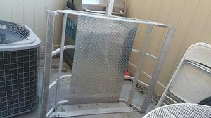42x42 aluminum carrier basket $120 obo for Sale in Fontana, CA