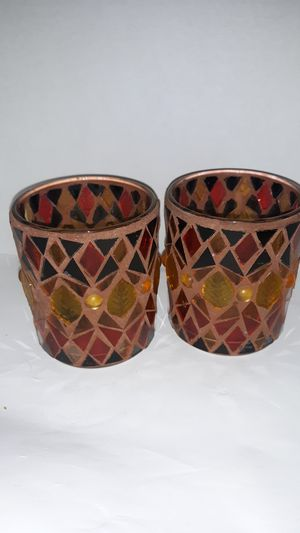 Mosaic candle holders for Sale in Piqua, OH