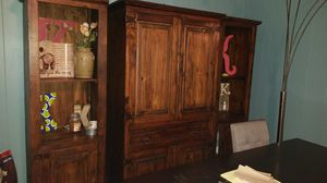 TV armoire and bookshelves for Sale in Columbia, TN