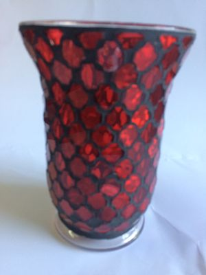 Glass mosaic vase from local boutique for Sale in Bellevue, WA