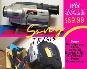 Sony CCD TRV38 + Case + Battery | Charger Missing| for Sale in North Saint Paul, MN