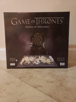 Game of Thrones 3D puzzle for Sale in Miami, FL