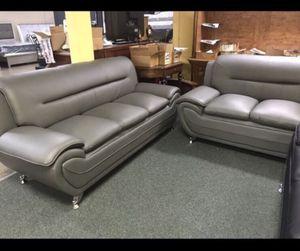 Sofa Plus Love Seat. Brand New in Box. ($40 down No Credit Check). for Sale in Hialeah, FL