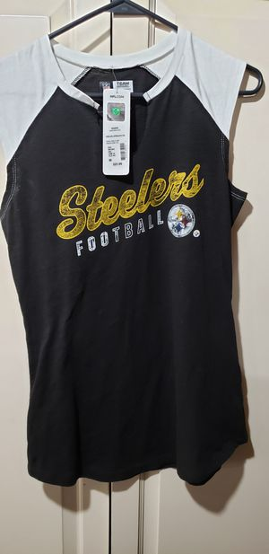 Womens Pittsburgh Steelers Shirt Size M for Sale in Pittsburgh, PA