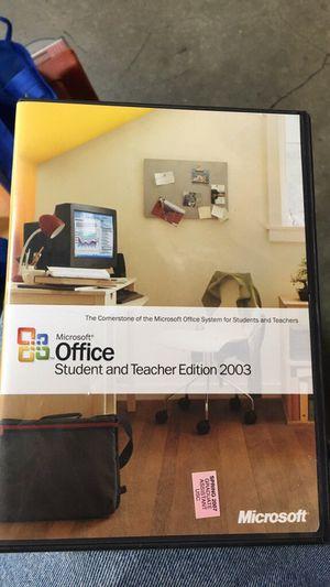 Microsoft Office 2003 for Sale in Santa Maria, CA
