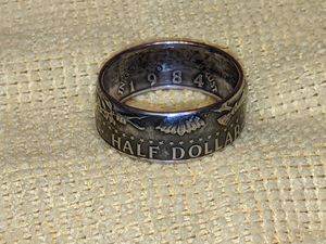 JFK half dollar ring for Sale in Winchester, VA