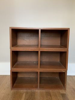 Three Piece Wood Shelving for Sale in Long Beach,  CA