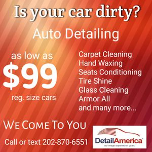 Detailing Service for Sale in Takoma Park, MD