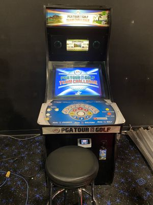 PGA Tour Golf Team Challenge Online Arcade Game Console for Sale in Henderson, NV