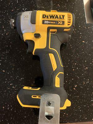 Like New DEWALT 20v MAX XR BRUSHLESS IMPACT DRILL for Sale in Woodbridge, VA