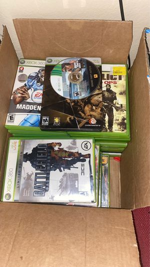 Box of Xbox 360 games for Sale in Las Vegas, NV