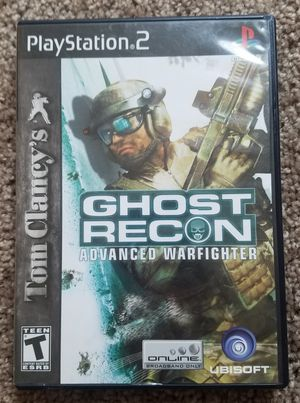 Tom Clancy ghost recon ps2 game for Sale in Tuscola, TX