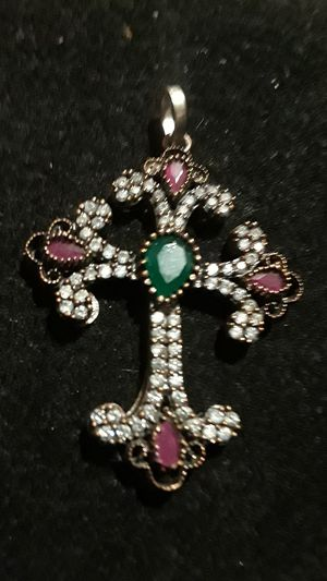 Absolutely Gorgeous Sterling Silver 925 cross for Sale in New York, NY