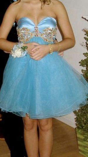 Sherri Hill Baby Blue Formal Dress for Sale in Interlochen, MI