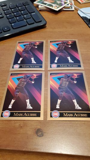 1990 Skybox Mark Aguirre lot of 4 cards for Sale in Alexandria, VA
