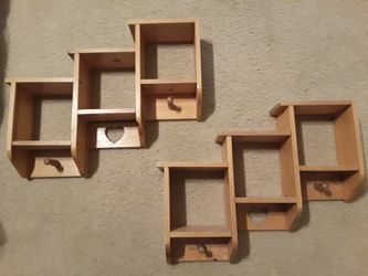Wooden wall shelves for Sale in Arlington,  TX