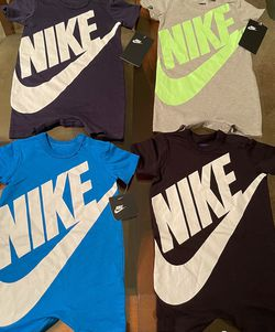 BRAND NEW WITH TAGS NIKE ROMPERS $17 EACH for Sale in Stone Mountain,  GA