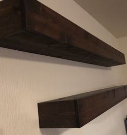 Hevy Duty Handmade Custom Floating Shelves for Sale in Puyallup,  WA