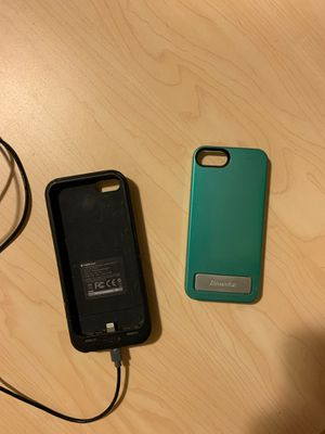 iPhone 5 mophie extra battery and case (free) for Sale in Portland, OR