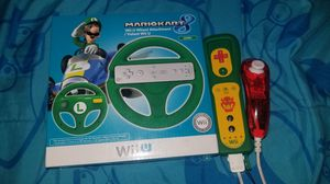 Nintendo Wii U wheel Luigi Mario kart 8 for Sale in Los Angeles, CA