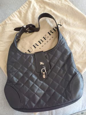 Authentic Burberry quilted brown shoulder bag ($895) for Sale in Brooklyn, NY