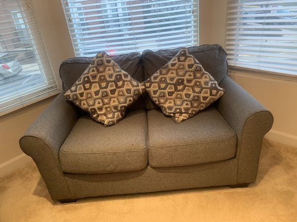 For sale one bed ,two couches,tv and the table also cabinet