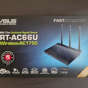Asus RT-AC66U Wireless Router Internet AC1750 Computer for Sale in Austin, TX