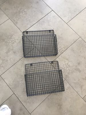 Industrial Metal Wall Shelves for Sale in Phoenix, AZ