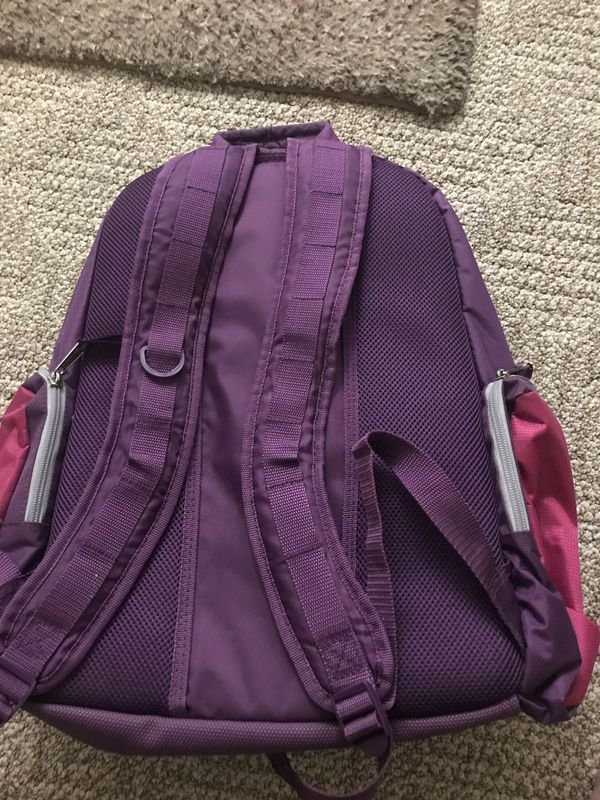 Pink Backpack.