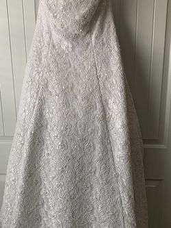 Strapless Wedding Dress for Sale in Clayton,  NC