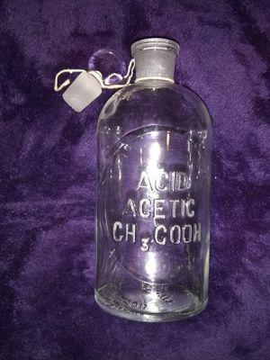 Antique laboratory poison bottle for Sale in Lobelville, TN