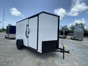 Enclosed Cargo Trailer 6x10 Single Axle for Sale in Pembroke Pines, FL
