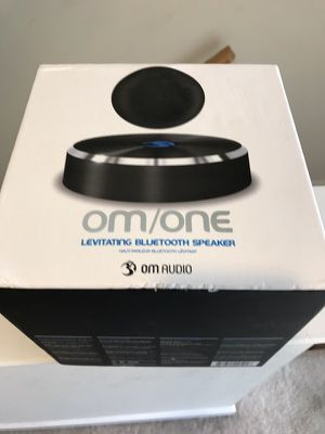 OmOne levitating Bluetooth speaker - not working for Sale in Philadelphia, PA
