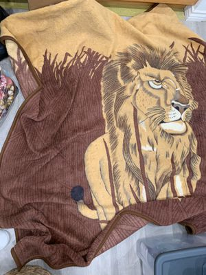 Lion blanket for Sale in Los Angeles, CA