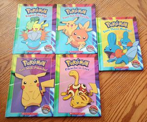 Pokemon hard cover books for Sale in Appleton, WI