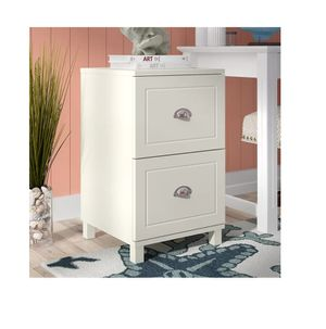 NEW 2 Drawer Filing Cabinet in Antique White for Sale in Bellevue, WA