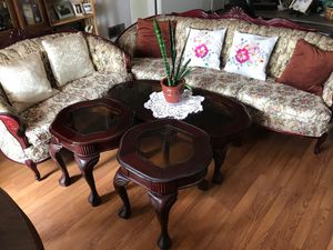 Floral living room set. for Sale in Daly City, CA