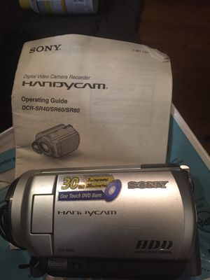SONY HANDYCAM for Sale in Washington, DC