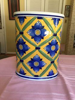 Ceramic umbrella holder or pot for Sale in Fairfax,  VA