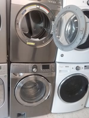 Samsung washer and dryer used good condition 90days warranty for Sale in Mount Rainier, MD