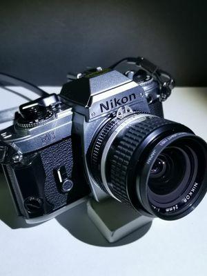 SLR Nikon 35mm FG with Nikkor 24mm lens for Sale in Midlothian, VA